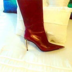 Burgundy Gianmarco Lorenzi Boots